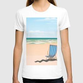 vintage Beach Deck Chair T-shirt