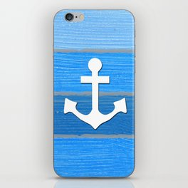 Nautical themed design iPhone Skin