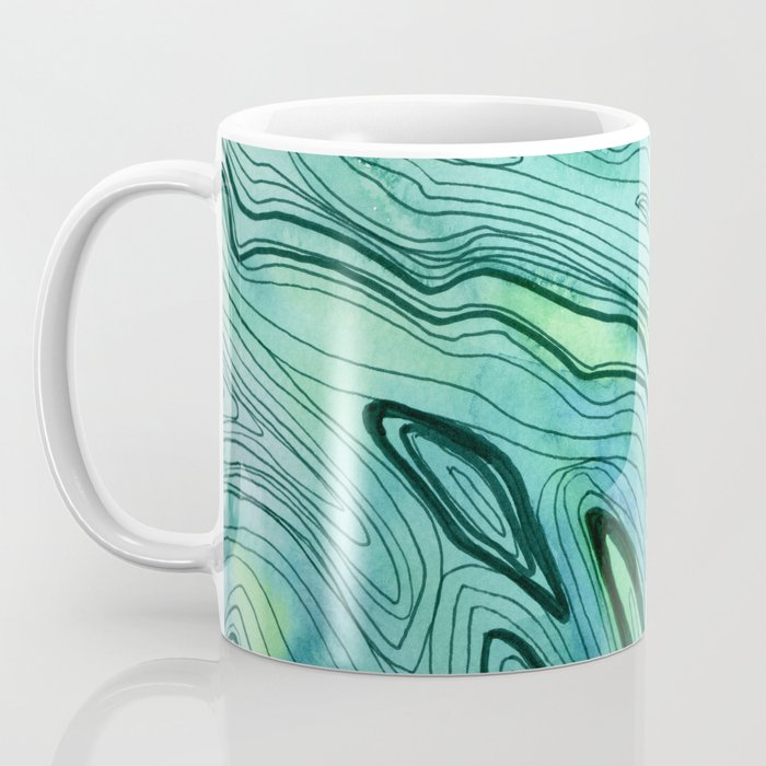 Blue Lace Agate II Coffee Mug
