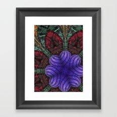 Psychedelic Botanical 2 Framed Art Print