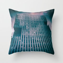 street photo CORPORATION #street #streetphoto Throw Pillow