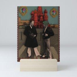 David and Iggy Mini Art Print