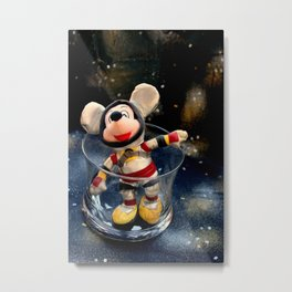 Lost In Space Mickey - Found Again Metal Print