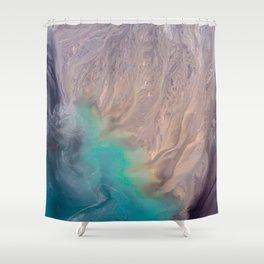 Gypsy Magic Healing Crystal Shower Curtain