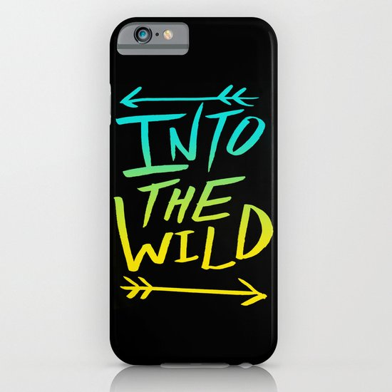 Into The Wild: Typography iPhone & iPod Case