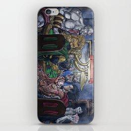 Gods Playing Poker iPhone Skin