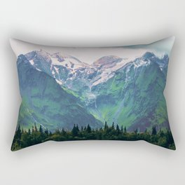 Escaping from woodland heights III Rectangular Pillow