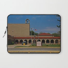 Lourdes University-  Franciscan Center in the Spring III Laptop Sleeve