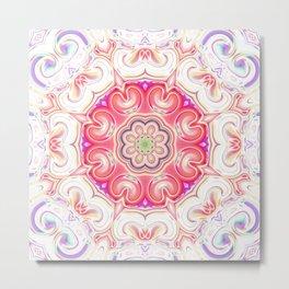 Star Flower of Symmetry 738 Metal Print