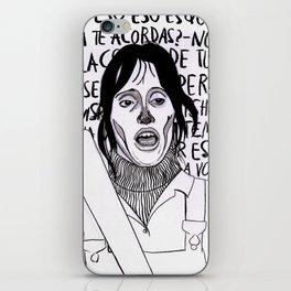 la resplandora iPhone Skin