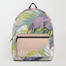Parrot in the jungle Backpack