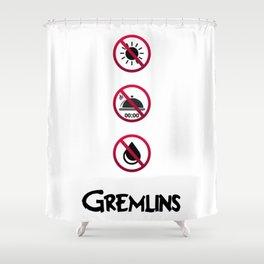 Gremlins Shower Curtain