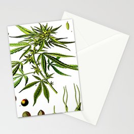 Cannabis Sativa - Koehler (1887) Stationery Cards