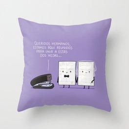 Reunidos para unir Throw Pillow