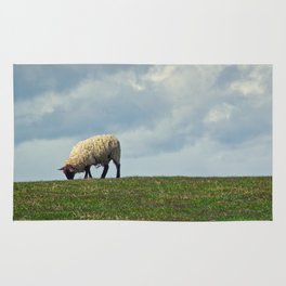 Sheep on the Hill Rug