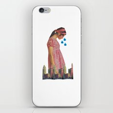 Teary Cities iPhone & iPod Skin