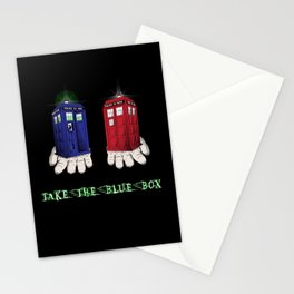 Take The Blue Box Stationery Cards