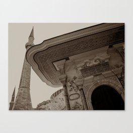 """Sultan Ahmed Mosque (""""Blue Mosque"""", Istanbul, TURKEY) Canvas Print"""