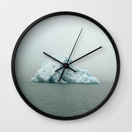 Jokulsarlon Iceberg Wall Clock
