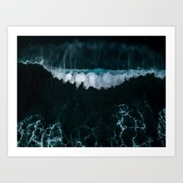 Wave in Motion - Ocean Photography Art Print