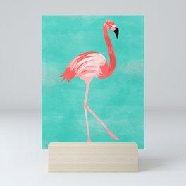 Flamingo Bird Mini Art Print