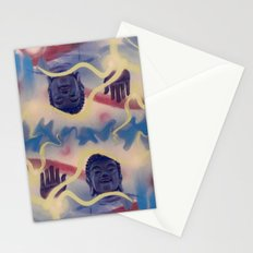 Spiral Stare Face Stationery Cards