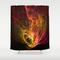 fractal Shower Curtains featuring Fractal by jbjart