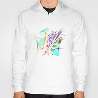 band Hoodies featuring Jazz Band by Nancy Smith