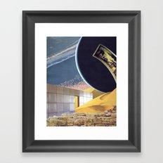 Drift Fixation Framed Art Print