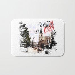 Poland - Krawkowskie Przedmiescie, Warsaw Bath Mat