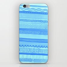 Tribal#1 (Blue) iPhone Skin