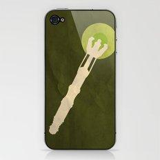 Minimalist Sonic Screwdriver iPhone & iPod Skin