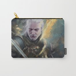The White Wolf  Carry-All Pouch