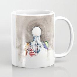 Non-apate, male back anatomy, NYC artist Coffee Mug