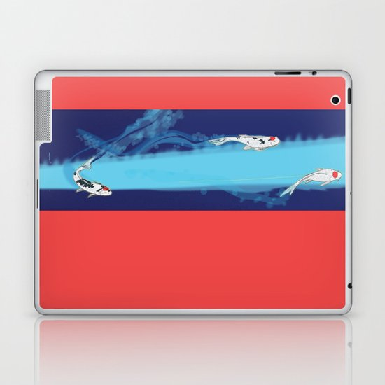 Speeding Koi Laptop & iPad Skin