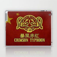 Crimson Typhoon Laptop & iPad Skin
