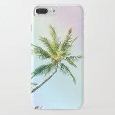 Relaxing Rainbow Color Palms iPhone 7 Plus Slim Case