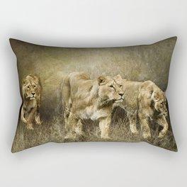 Following the Herd Rectangular Pillow