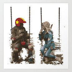 Turbo Kid Art Print