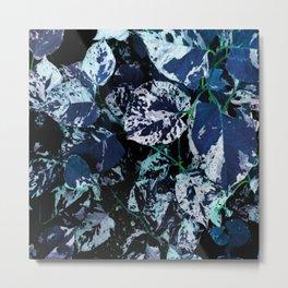 Leaf Motif Metal Print