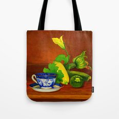 Teacup with Squash Tote Bag