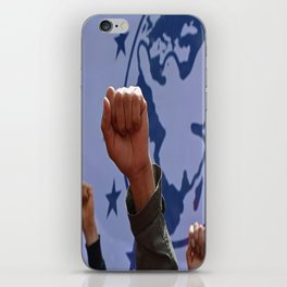 peaceful protest iPhone Skin