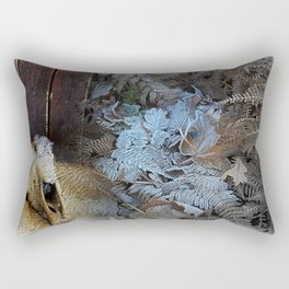 A journey into winter Rectangular Pillow