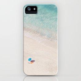 The Aqua Umbrella iPhone Case