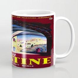 Vintage poster - Palestine Coffee Mug