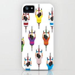 Cycling Squad iPhone Case