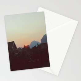 Vang Vieng Sunset Stationery Cards