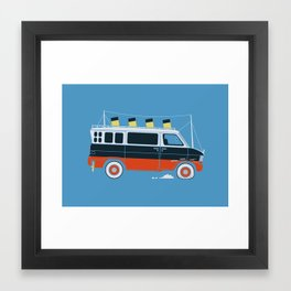 The Titanic Van Sinks Framed Art Print