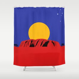 Southern Land Shower Curtain