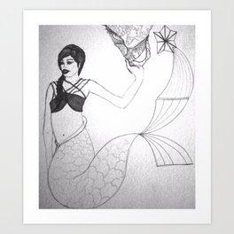 Del mar Art Print
